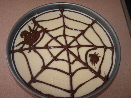 TARTA TRES CHOCOLATES HALLOWEEN