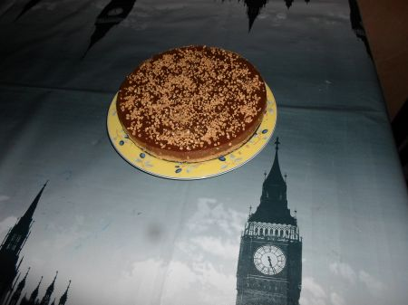 TARTA DE CHOCOLATE DE ARROZ
