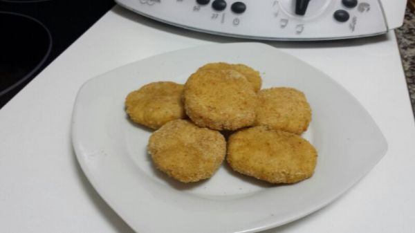 NUGGETS DE POLLO CON QUESO