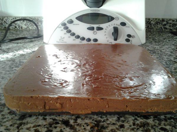 TARTA DE CHOCOLATE CELESTE